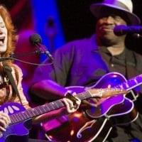Bonnie Raitt will perform with fellow blues-rock legend Taj Mahal on this summer's BonTaj Roulet Tour.<br />© Scott Newton