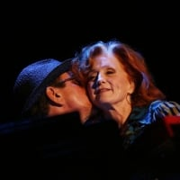 Bonnie Raitt shared a tender moment Thursday with Twin Cities keyboardist Ricky Peterson during an emotional tribute song to her late brother Steve Raitt. Peterson and Steve Raitt were close friends until Steve died of brain cancer this year. During 'Nick of Time',Bonnie sidled up next to Peterson on the keyboards, and praised him for the 'Minnesota magic' he's spent the summer spreading to fans around the country. Later, she sang 'Good Man Good Woman' with him as a duet, showcasing a chemistry that suggested they'd been bandmates for decades, not mere months. Grandstand, Minnesota State Fair, Falcon Height, Minn. August 27, 2009  © Renee Jones Schneider /Star Tribune
