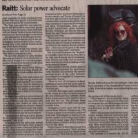 Bonnie Raitt powers solar benefit
