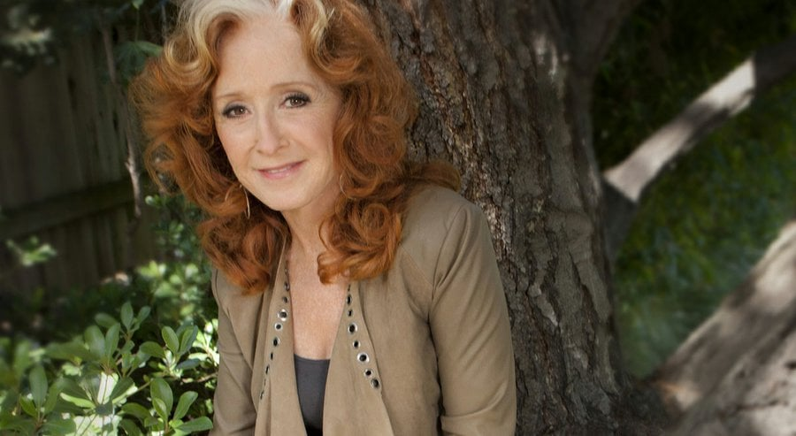 An audience with Bonnie Raitt