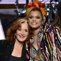 Bonnie Raitt and Andra Day at Kennedy Center Honors 2016  © Jeffrey R. Staab /CBS