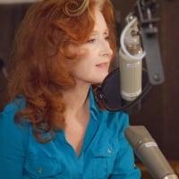 Bonnie in the studio, recording Slipstream © Matt Mindlin