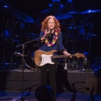 Rock & Roll Hall of Famer Bonnie Raitt live in concert at the Blaisdell Concert Hall.  ©  KAT WADE / SPECIAL TO THE STAR-ADVERTISER