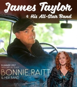 Announcing Additional Summer Tour Dates with James Taylor & His All-Star Band!