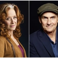 In this combination photo, singer Bonnie Raitt, left, appears in New York on March 7, 2016 and singer James Taylor poses in New York on May 13, 2015. file photo. Raitt and Taylor are teaming up this summer for concerts that include the ultimate in Americana, some of the country's most storied baseball parks. (Photo by Drew Gurian, left, and Dan Hallman/Invision/AP, File) (Associated Press)
