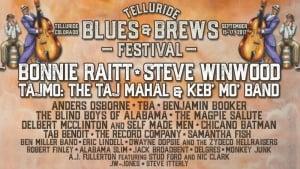 Telluride Blues & Brews Festival 2017
