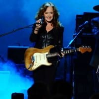 Bonnie Raitt performs on stage at the 2015 MusiCares Person of the Year show at the Los Angeles Convention Center on Friday, Feb. 6, 2015, in Los Angeles.  © Vince Bucci /Invision/AP