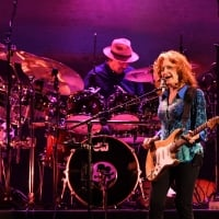 """In addition to original material, Raitt's set included covers ranging from Los Lobos' """"Shakin' Shakin' Shakes"""" to Talking Heads' """"Burning Down the House"""" and INXS' """"Need You Tonight.""""  © Michael Karas /Northjersey.com"""