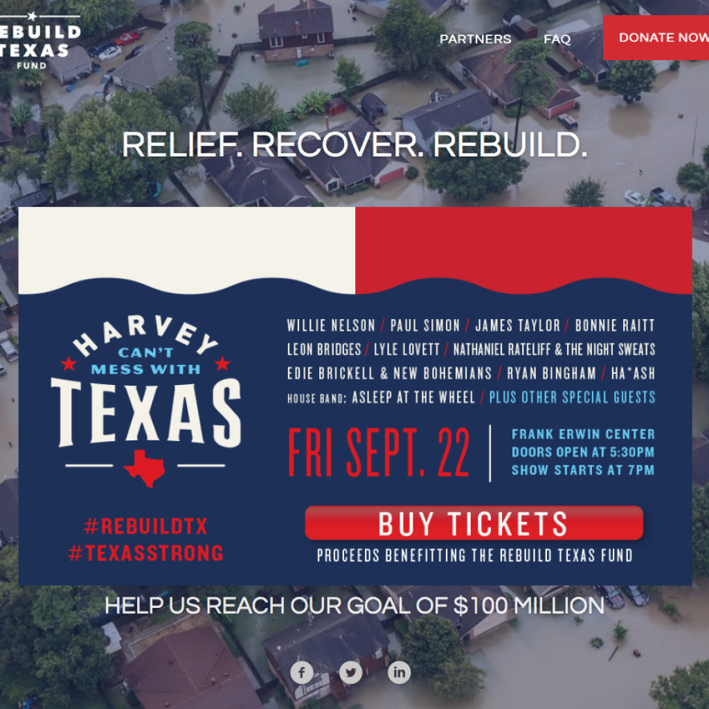 Willie Nelson, Bonnie Raitt to headline Harvey benefit concert
