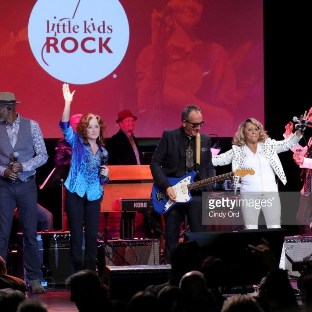 Little Kids Rock Honors Elvis Costello and Bonnie Raitt