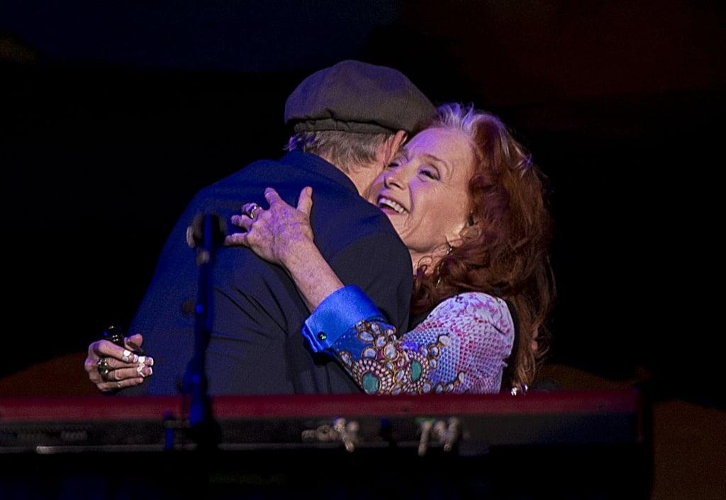 James Taylor and Bonnie Raitt deliver playful, electric show at the 'X'