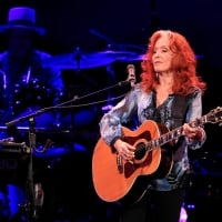 Bonnie Raitt performs at the KeyBank Center on Sunday, July 1, 2018  © Harry Scull Jr. /Buffalo News