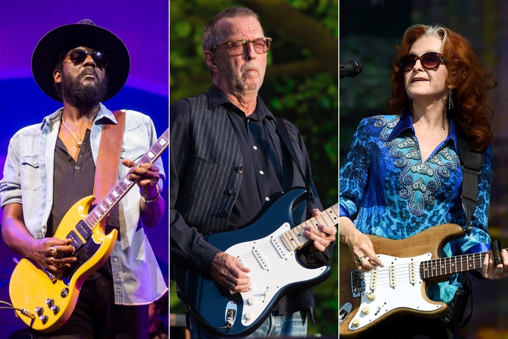Eric Clapton's Crossroads Guitar Festival Returns With Gary Clark, Jr., Bonnie Raitt