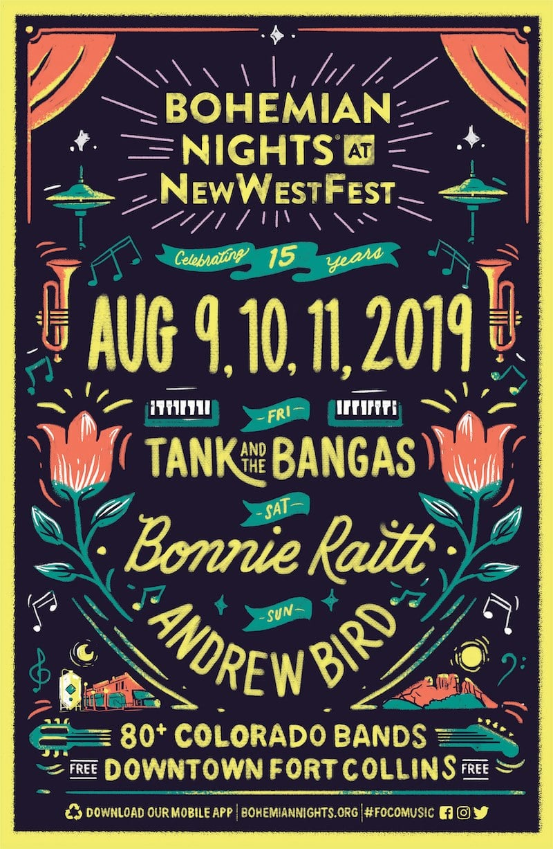 New West Fest 2019 Bohemian Nights at NewWestFest | Bonnie's Pride and Joy
