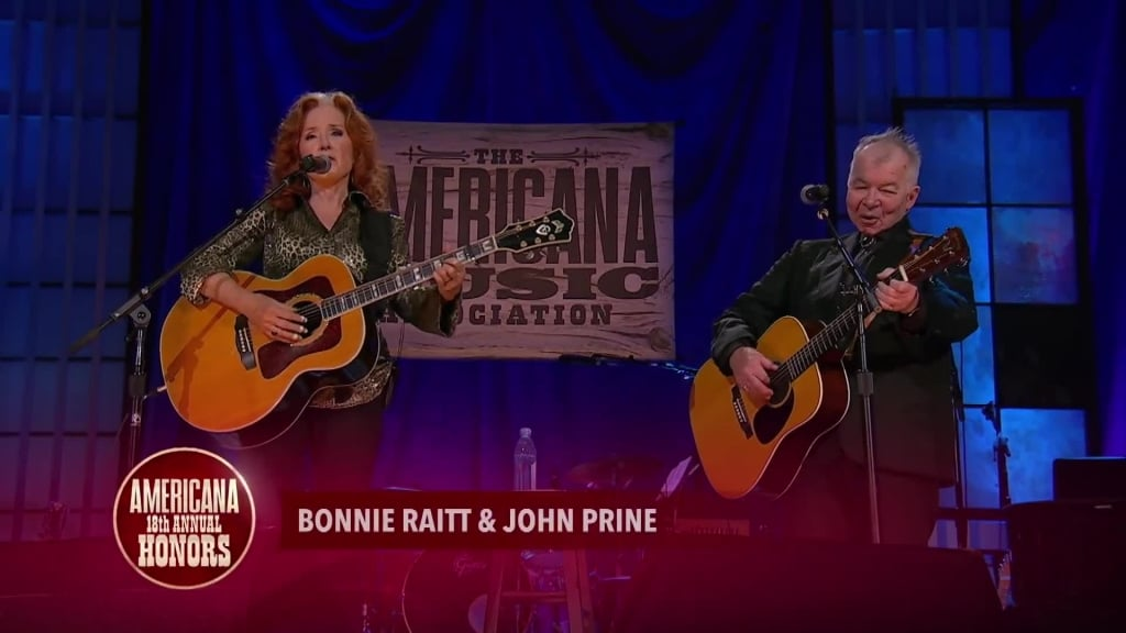 Watch Bonnie Raitt, John Prine Sing 'Angel From Montgomery' on 'Austin City Limits'